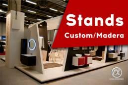 Stands Custom: Diseño de stands de madera