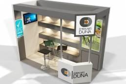 diseño stand DUNA embalajes