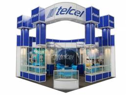 Stand Moduler Aluminio Telcel